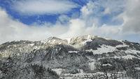 alpine mountain scenery