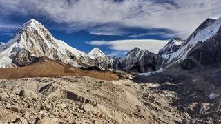 Der Berg Pumori am Everest Base Camp in Nepal