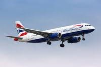 British Airways Airbus A320 airplane