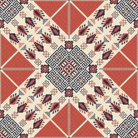 Palestinian embroidery pattern 140