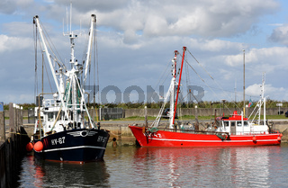 Krabbenkutter, Hafen, Havneby, Roemoe
