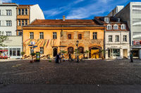 Streets of the historic center of Altstadt Spandau.