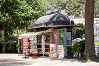 Small Kiosk in Malaga