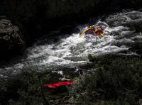 Rafting at the River