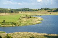 Landschaft am Verbindungskanal Baaber Bek in Baabe-Moritzdorf