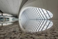 Chongqing west railway station interior