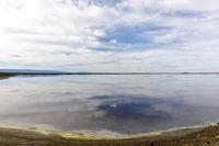 Alviso Slough Reflections in San Francisco Bay.