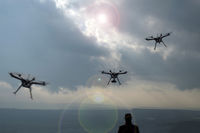 Drones, air drones, flying object