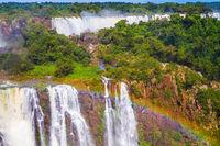 Complex of waterfalls Iguazu