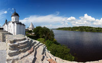 St. George church in Staraya Ladoga fort