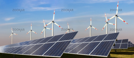 Photovoltaic and wind power