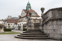 Art Nouveau spa Sprudelhof, Bad Nauheim