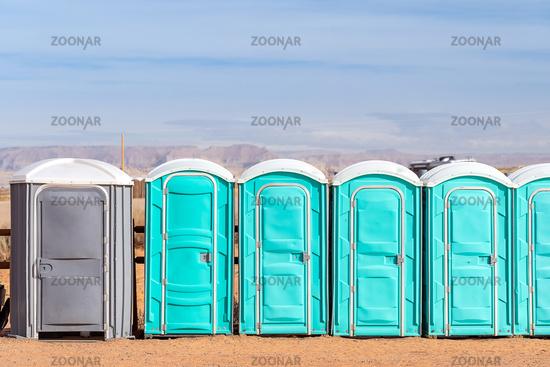 public Portable toilet