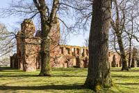 Eldena Abbey, Mecklenburg-Vorpommern, Germany