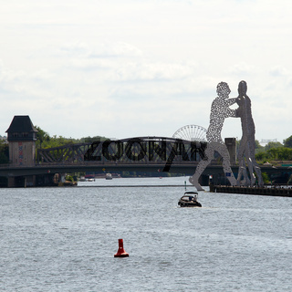 Molecule Man. Berlin. Deutschland