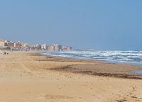 La Mata beach in the south of Spain