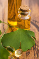 ginkgo with essential oil