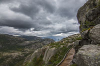 Trail to the Preikestolen