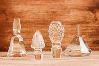 Vintage cut glass stoppers