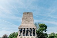 The Guards Memorial in London against sky