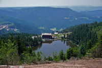 Mummelsee in the Black Forest, germany