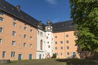 Treppenturm des Welfenschloss Münden in Hann. Münden