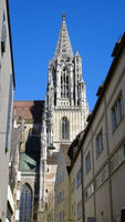 Ulm, tower of the Muenster