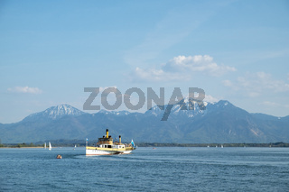 Boat on Chiemsee