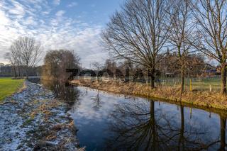 Die Dinkel bei Nienborg im Winter
