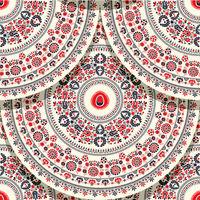 Hungarian motif tile 12