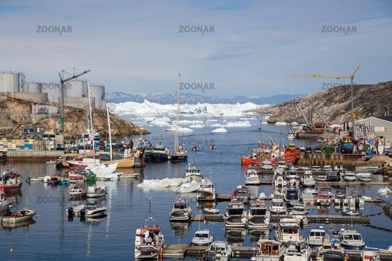 Ilulissat Harbor, Greenland