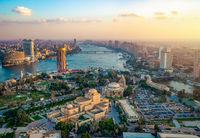 Panorama of Cairo