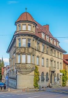 Gebäude in Romanshorn, Kanton Thurgau, Schweiz