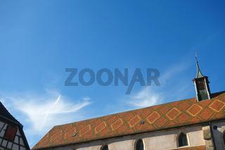 Vorsehungskirche im Rappoltsweiler Frankreich