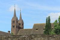 Höxter - Abteikirche Corvey, Deutschland
