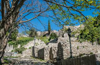 The ruins of Stari Bar
