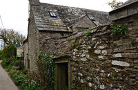 ancient house - Tintagel - Cornwall