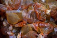 Chili sauce packs
