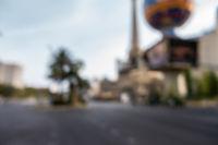 Las Vegas Blurred background