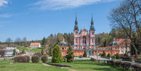 the famous Swieta Lipka (Holy Lime) pilgrimage church in Warmia and Masuria,Poland