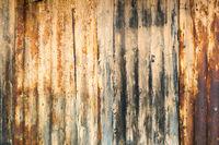 Old Rusty Sheet Metal Abstract Background Texture