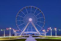 Baku ferris wheel