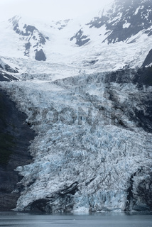 Glacier At College Fjord, Prince William Sound, Alaska
