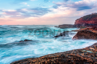 Wollongong Sea Coast in morning light