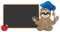 Sloth teacher theme image 2