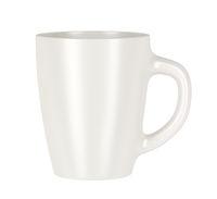 Ceramic mug isolated on white