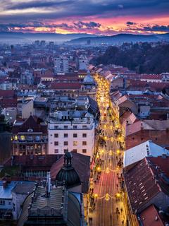 Zagreb shopping mall  ilica at Advent