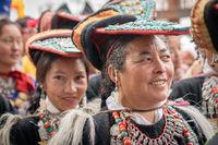 Women dancers in Ladakh