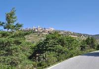 Village of Bargème in Verdon Nature Park,Provence,France