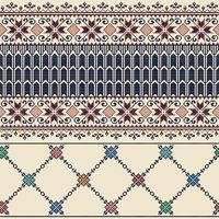 Palestinian embroidery pattern  115